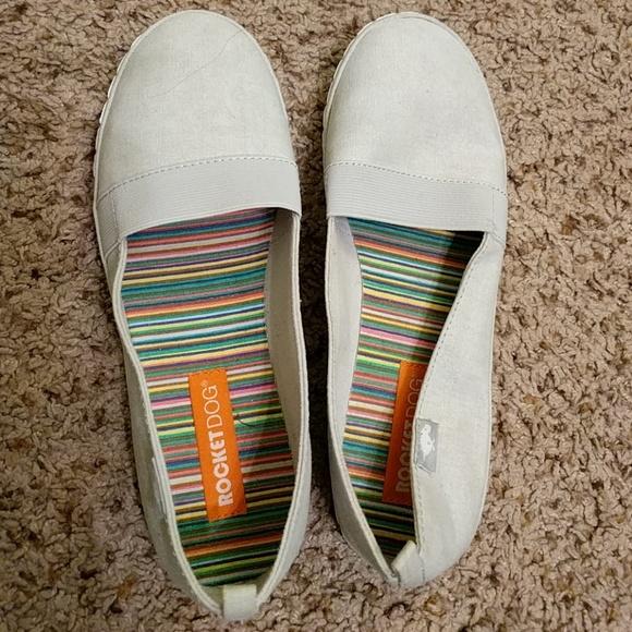 Rocket Dog Shoes   Canvas Flats   Poshmark